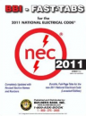 NFPA 70: National Electrical Code 2011 Tabs
