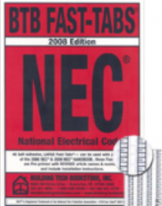 NFPA 70: National Electrical Code Fast Tabs 2008