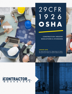 Code of Federal Regulations, 29 CFR Part 1926 (OSHA) 2020